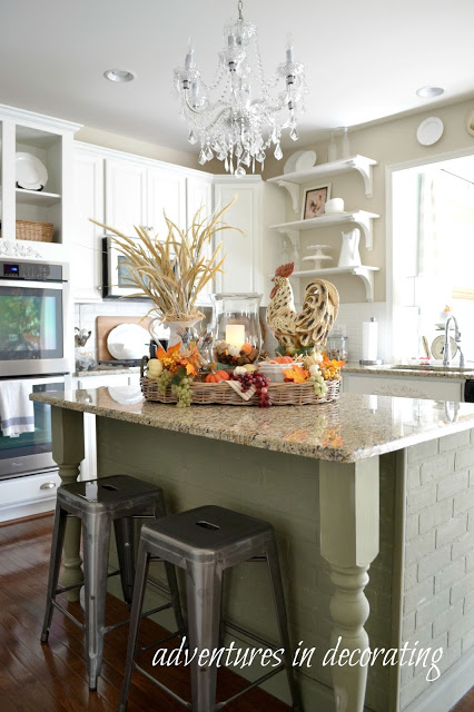 Charming home tour adventures in decorating town - What is a kitchen island ...
