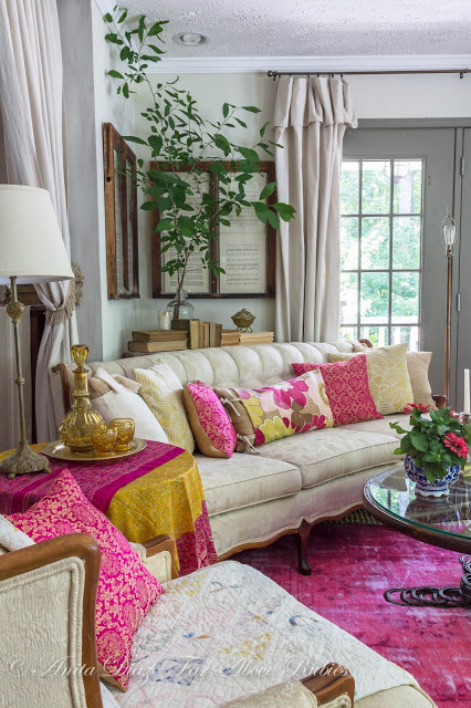 Romantic Living Room: Town & Country Living