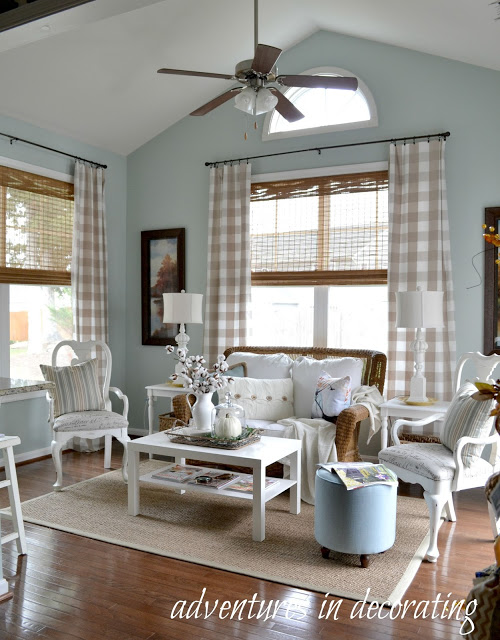 Light and Breezy Sunroom