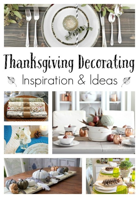 Thanksgiving Decorating Ideas and Inspiration