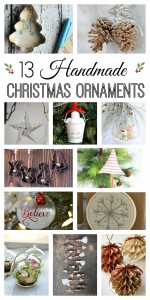 13 Handmade Christmas Ornaments