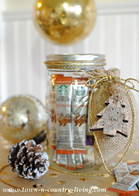 Coffee Lovers Gift In A Mason Jar Town Amp Country Living
