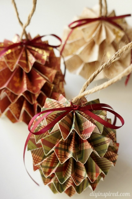 13 Handmade Christmas Ornaments - Town & Country Living