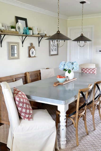Industrial Chic Dining Room
