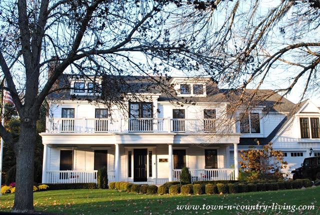 Clapboard House in Geneva, Illinois