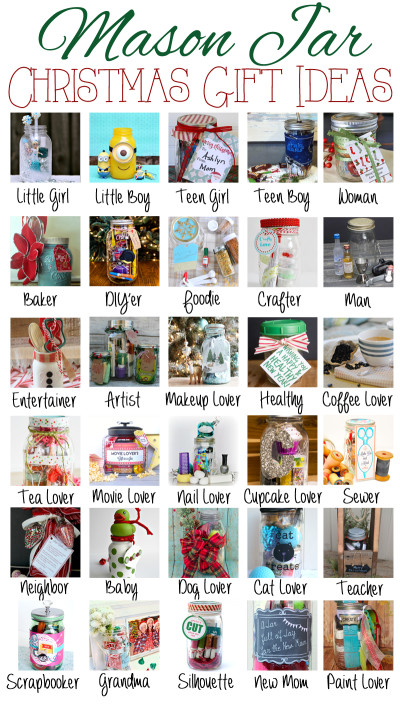 30 Mason Jar Gift Ideas