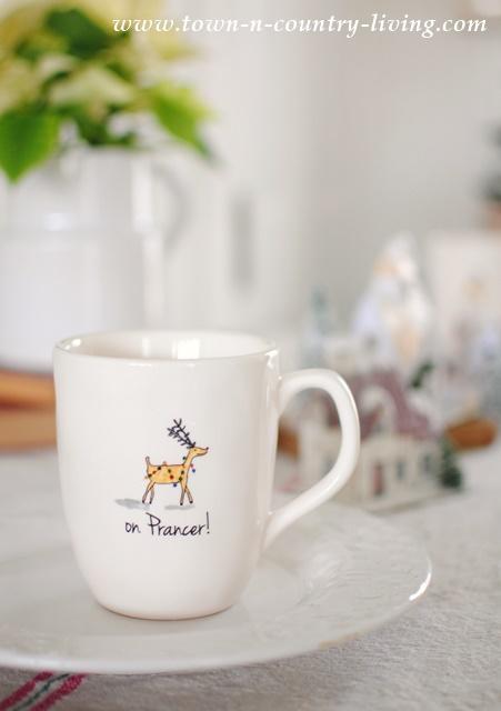 Reindeer Christmas Mug