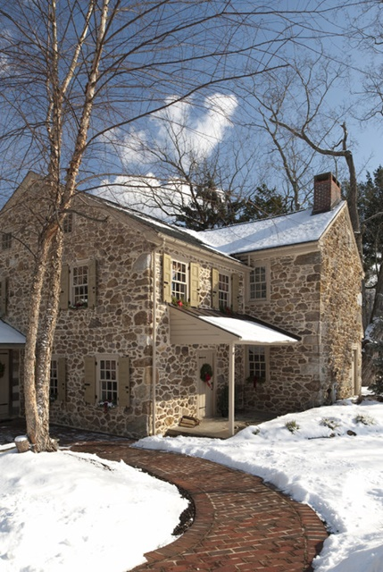 Historic Stone Home from Houzz