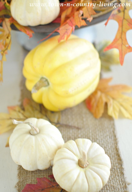 Natural Style Thanksgiving Centerpiece