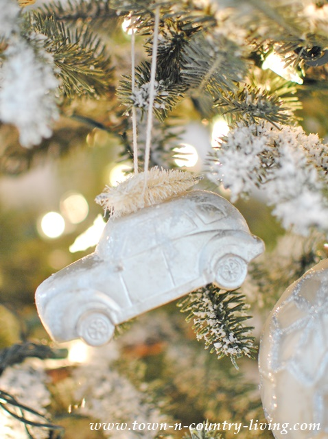 Frosty Christmas Ornaments