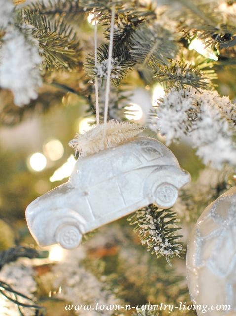 Frosty Christmas Ornaments