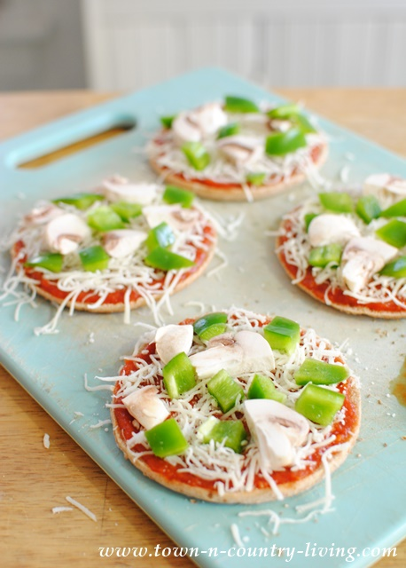 Weight Watchers Pizza Appetizers #sponsored