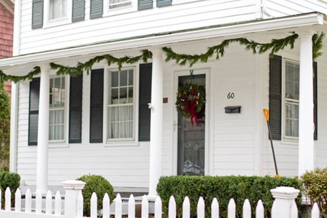 Classic White Farmhouse Porch from Houzz