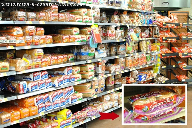 Bread Aisle at Walmart