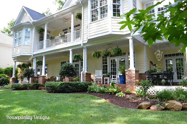 Back Porch at Housepitality Designs