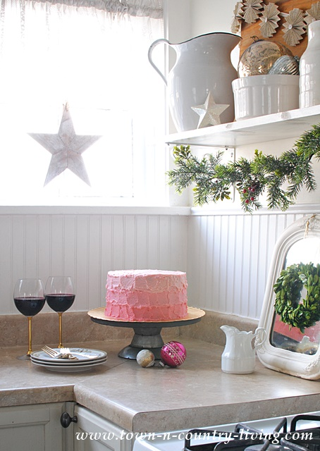 Christmas Baking in a Farmhouse Kitchen