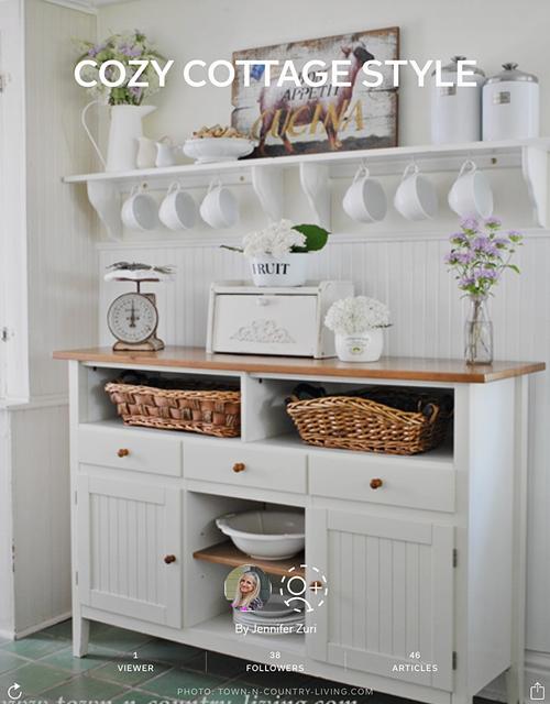 Cozy Cottage Style Flipboard Magazine