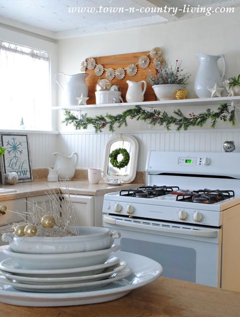 Christmas in the Farmhouse Kitchen