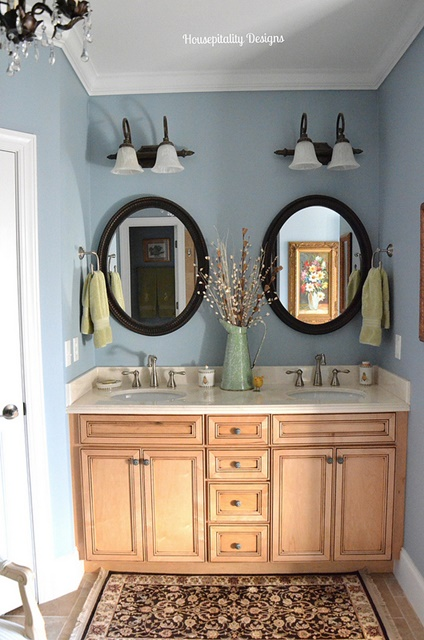 Guest Bathroom at Housepitality Designs