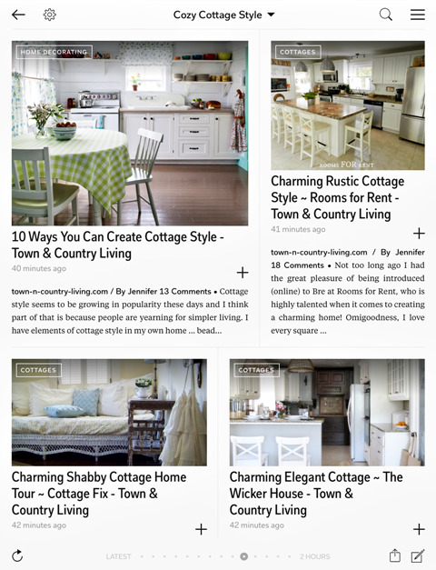 Flipboard Magazine Page