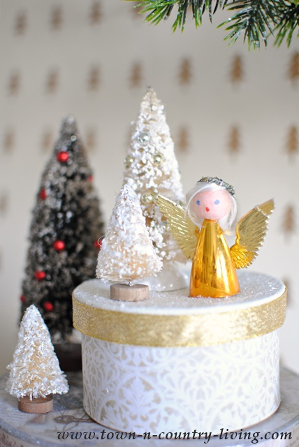 paper mache christmas boxes to make yourself