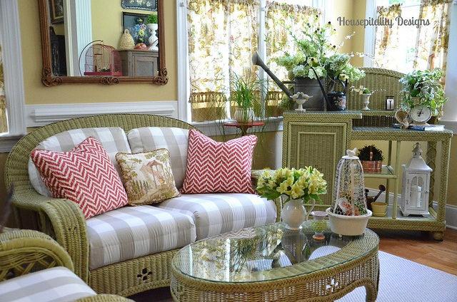 Cottage Style Sun Room
