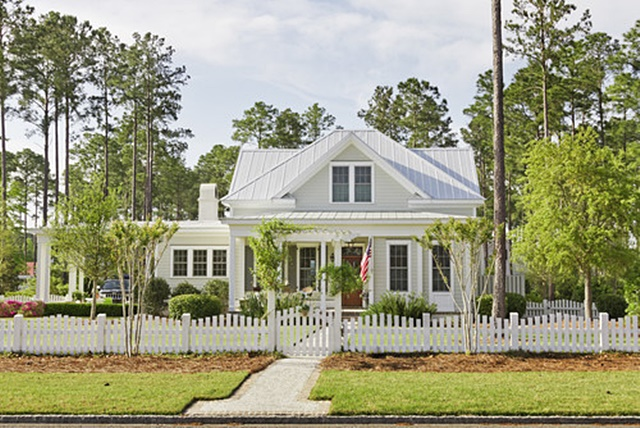 Storybook cottage charming home tour town country living for Farmhouse cottage house plans
