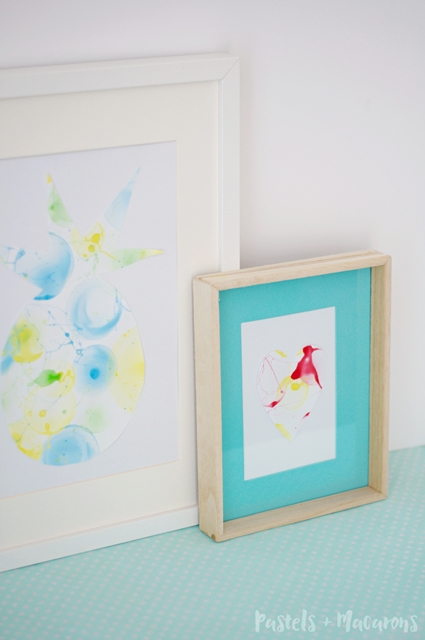 Bubble Art by Pastels and Macarons