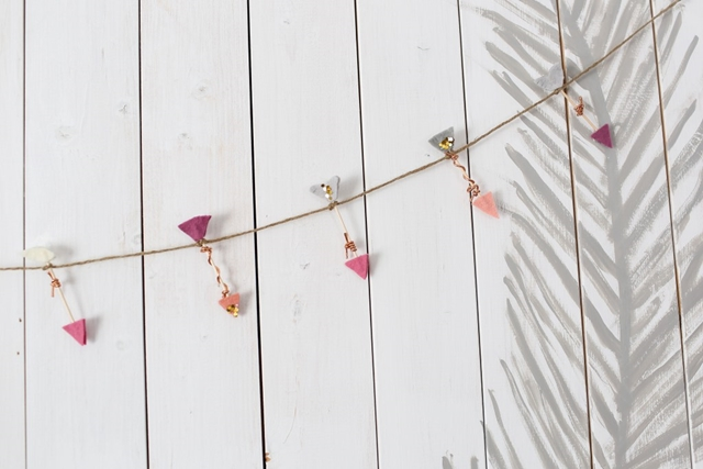 Mini Arrow Garland and Other Valentine's Day Projects