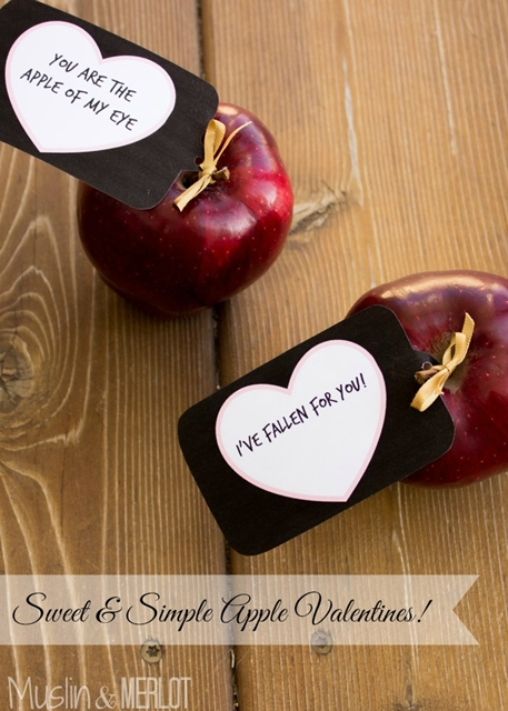 Apple Valentines