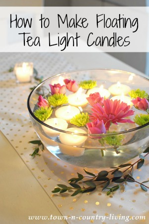 Floating-Tea-Light-Candles-and-Flowers-2