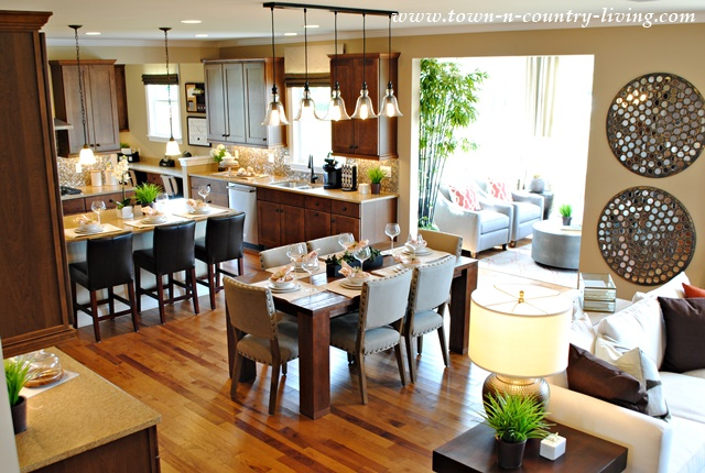 5 interior design trends of 2016 town country living - Model home interior decorating ideas ...
