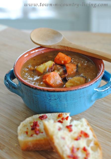 Roast Vegetable Medley Soup