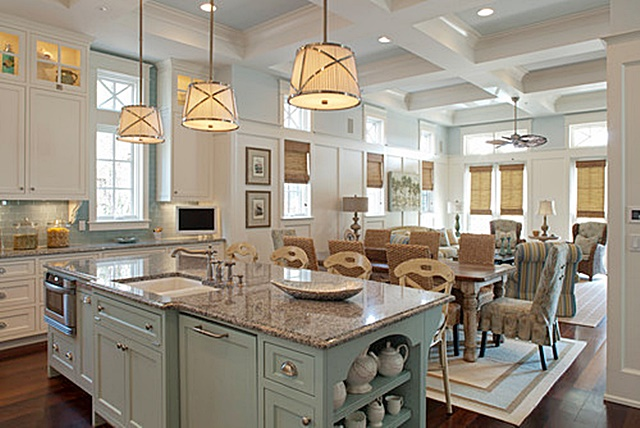5 interior design trends of 2016 town country living for Kitchen cabinet trends 2018 combined with large glass wall art