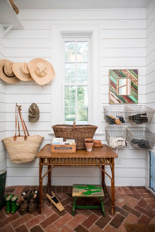 Farmhouse Sunroom Joanna Gaines