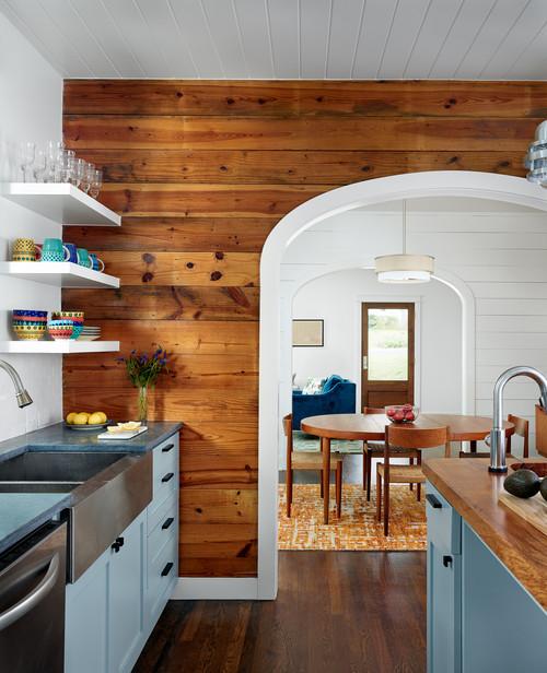 Farmhouse Kitchen with Shiplap