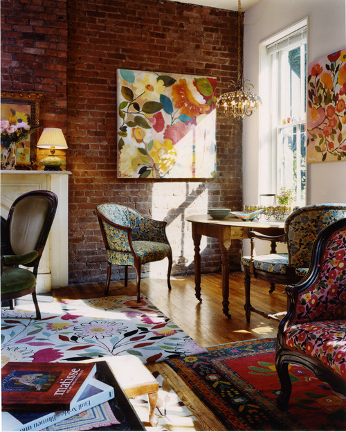 Florals - Interior Design Trends of 2016