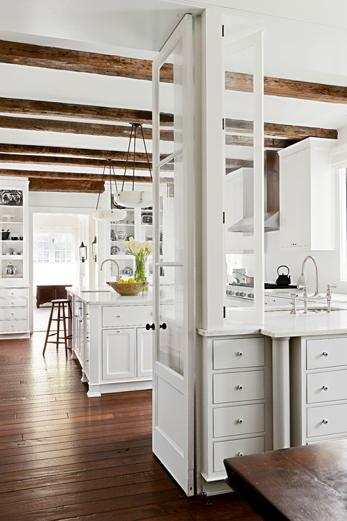 13 Ways to Add Ceiling Beams to Any Room - Town & Country Living