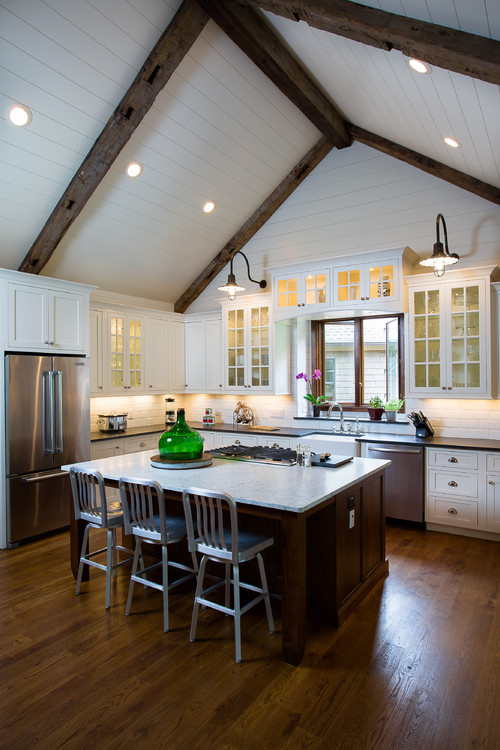 13 Ways To Add Ceiling Beams To Any Room Town Country Living