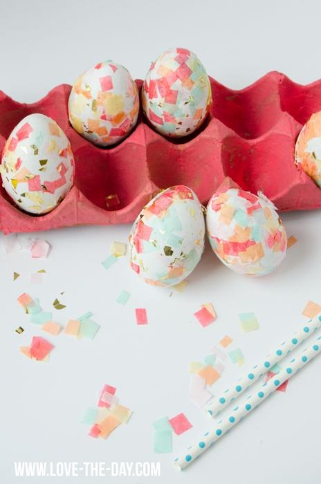 Confetti Easter Eggs