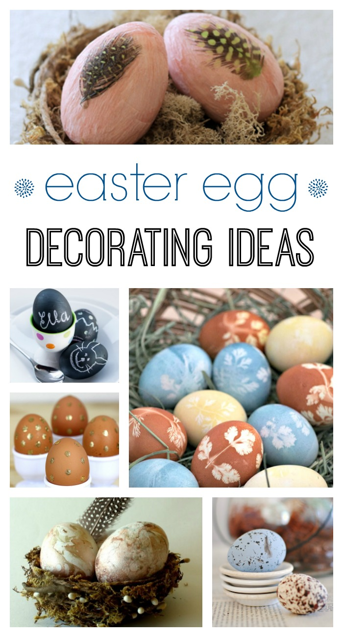 11 easter egg decorating ideas town country living for Easter egg ideas