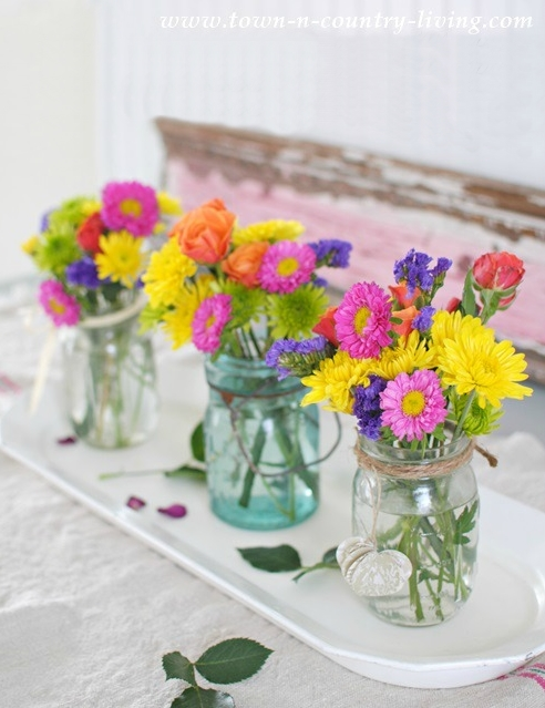 Colorful Farmhouse Flowers