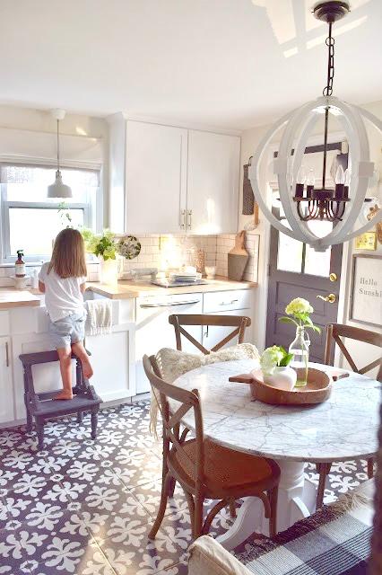 Cottage Kitchen in Connecticut