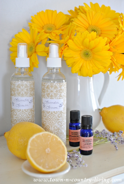 DIY Lavender Lemon Spray
