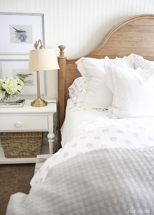 Soft Country Style Master Bedroom