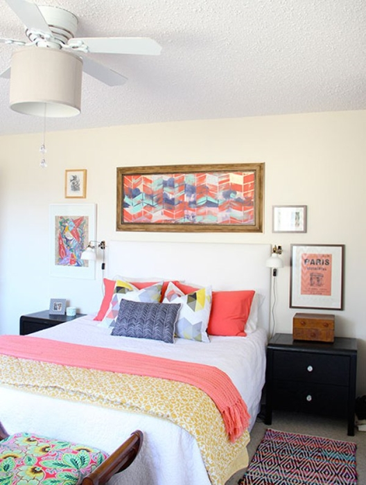 Add Color to Your Bedroom and 15 Decorating Ideas