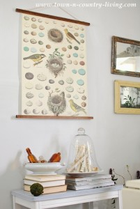 How to Make a Vintage Style Hanging Poster