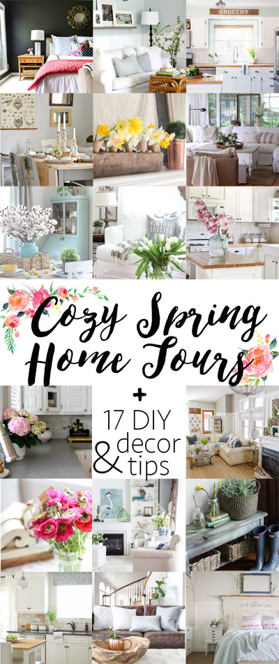 Cozy Spring Home Tours. See all 17!