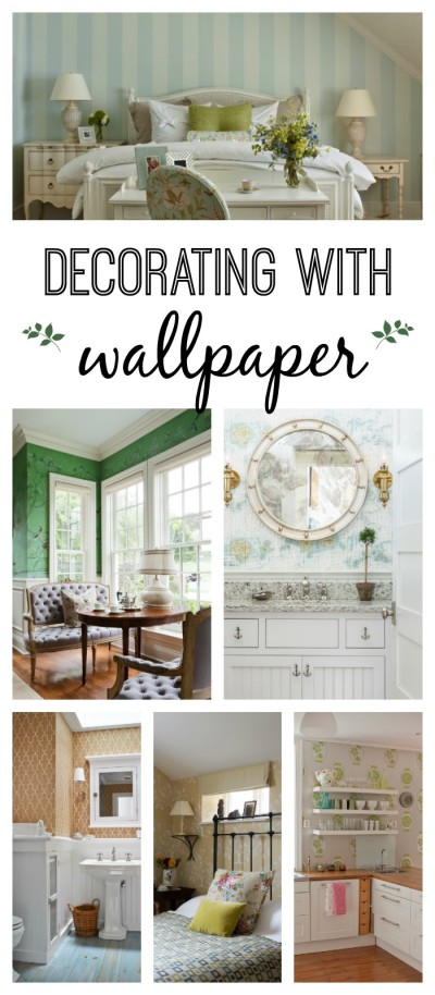 Decorating with Wallpaper - 13 Ideas
