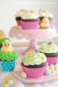 Easter Cupcakes for the Spring Holiday